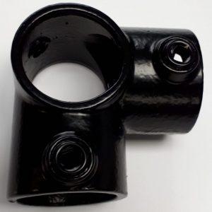 zwarte buiskoppeling A20,buiskoppeling,buiskoppelingen ,buisklem,buisklemmen,metalsign,