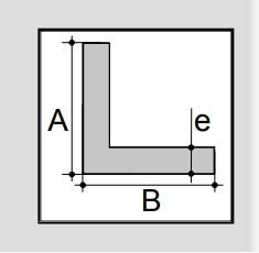 aluminium L- profiel