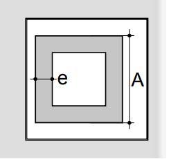 Vierkante aluminium profielen