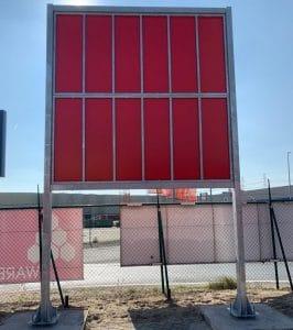 Gegalvaniseerde stalen constructie voor panelen
