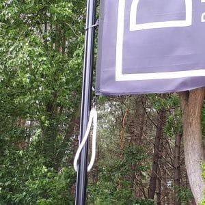 Gewichten voor zwarte vlaggenmasten