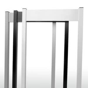 aluminium parkeerbordjes wit zwart grijs op 2 palen, parkingborjes, parkeerbord, parkeerborjes